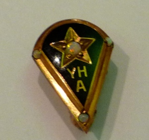Youngstown Hospital Association nurse's pin, c1945