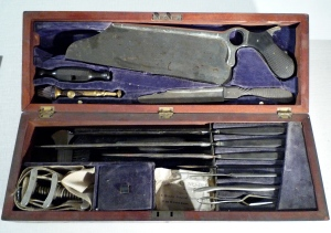amputation kit (E.M. Hessler, 1890-1893)