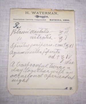 Waterman 1890 Rx