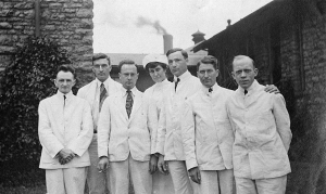 Staff members of the Youngstown Hospital, c1912