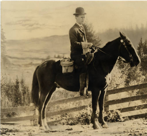 Doctor Hoffman in Woodland, Washington c1910 (Courtesy of Oregon Health and Science University Archives)
