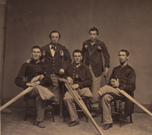Wounded Civil War veterans Courtesy of the National Library of Medicine