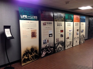 Exhibit in Cushwa Hall until January 31