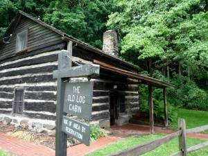 The Log Cabin built c1814