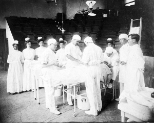 Freedmen's Hosptial, Howard University (1903) Courtesy of the Howard University Archives