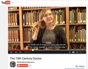Photo of video about 19th century doctors